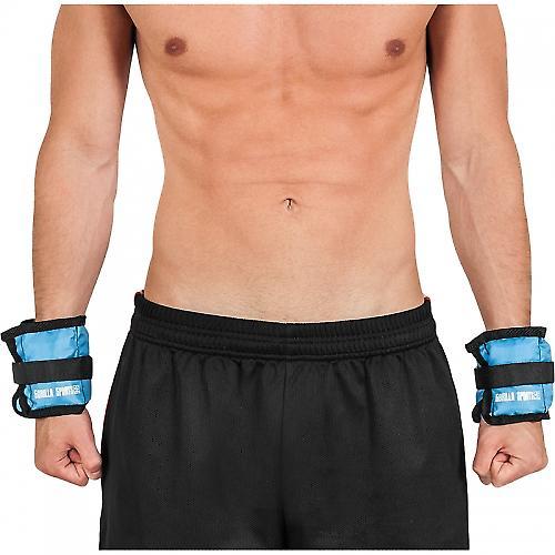Bandes lest�es pour poignets ou chevilles 1kg(2x0.5)