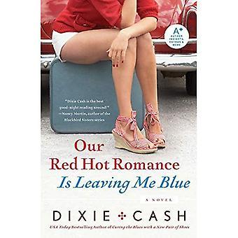 Notre Romance rouge chaud Me quitte bleu