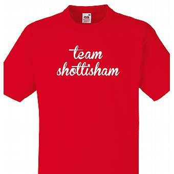 Team Shottisham Red T shirt