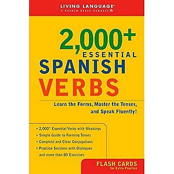 2000+ Essential Spanish Verbs (Living Language Series)