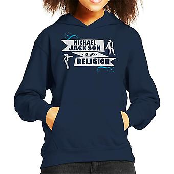 Michael Jackson Is My Religion Kid's Hooded Sweatshirt