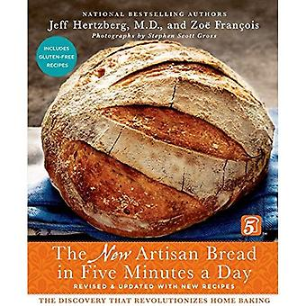 O novo pão artesanal em cinco minutos por dia: A descoberta de que revoluciona o cozimento em casa