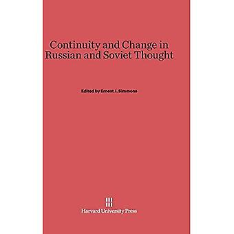 Continuity and Change in Russian and Soviet Thought