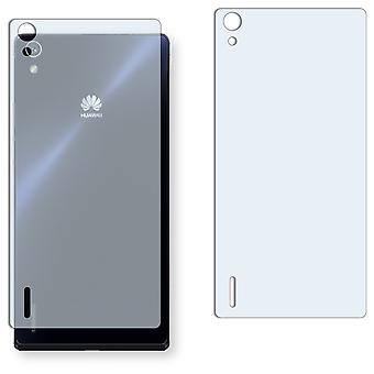 Huawei Ascend P7 back screen protector - Golebo crystal clear protection film