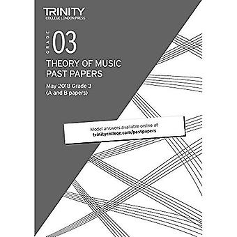 Trinity College London Theory of Music Past Papers (May 2018) Grade 3