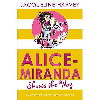 Alice-Miranda visar vägen