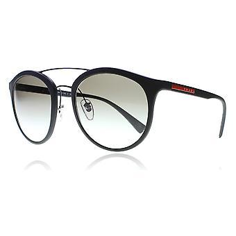 Prada Sport PS04RS DG00A7 Matte Black PS04RS Round Sunglasses Lens Category 2 Size 54mm
