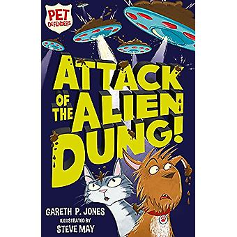 Attacco dello sterco alieno! da Gareth P. Jones - 9781847157799 libro