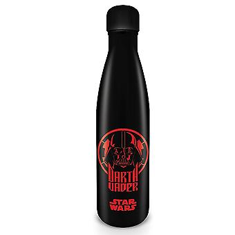 Star Wars water bottle Darth Vader black, printed, made of stainless steel, capacity approx. 500 ml...