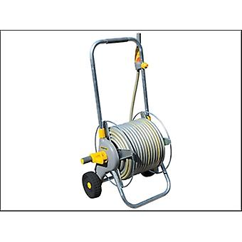 2436 METAL HOSE CART + 30 METRES OF HOSE + FITTINGS