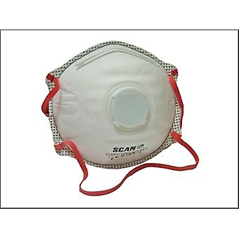 Scan Moulded Disposable Valved Masks (2) Ffp3