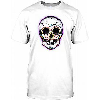 Maya mexikanischen Sugar Skull - T-Shirt für Herren