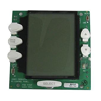 Jandy Zodiac R0550700 PC Board & LCD with White Buttons