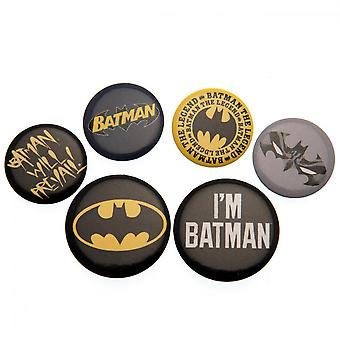 DC Batman Button Badge Set (Pack of 5)