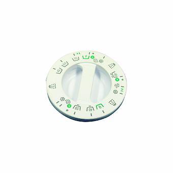 Indesit hvid vaskemaskine Timer knop