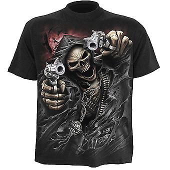 Spiral Direct Gothic ASSASSIN - T-Shirt Black|Reaper|Blood
