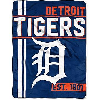 Northwest MLB Detroit Tigers micro pluche deken 150x115cm