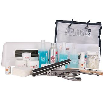 The Edge Nails Nail UV Gel Kit With 12 Watt Lamp (25 Set Piece) (2003200)