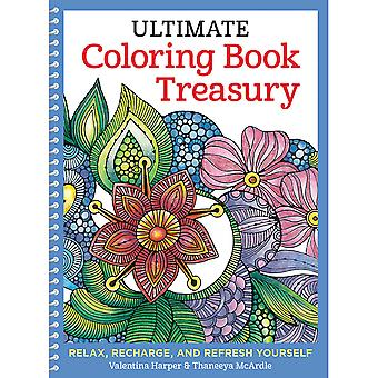Design Originals-Ultimate Coloring Book Treasury DO-5559