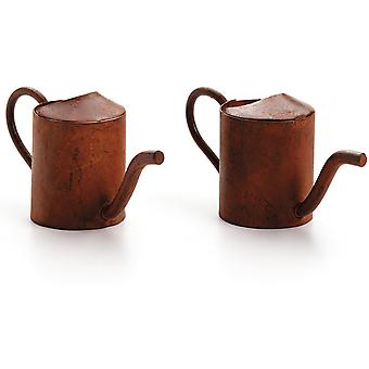 Timeless Miniatures Rusty Watering Can 2 Pkg 6552 98