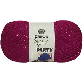 Simply Soft Party Yarn Fuchsia Sparkle H97par 2