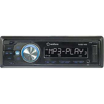 Car stereo Renkforce RUSD-1803