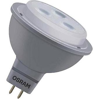LED (monocromo) OSRAM 12 V GU5.3 4 W = 20 W blanco cálido EEC: a + Reflector (Ø x L) 51 x 51 mm regulable 1 PC