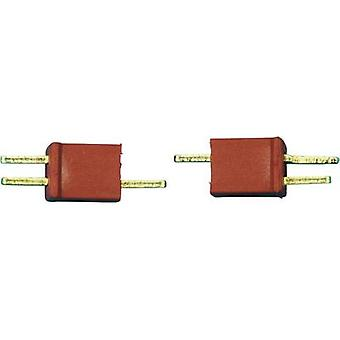 Battery plug, Battery receptacle Micro-T 1 pair Modelcraft