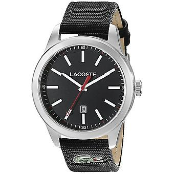 Lacoste 2010778 watch - Nylon svart man