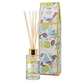 Fragrant Orchard Reed Diffuser - Wild Lime & Rose Tea