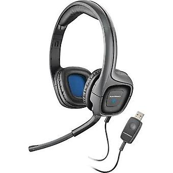 PC headset USB Corded Plantronics .Audio 655 Over-