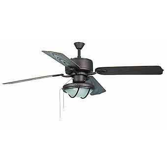 Faro outdoor ceiling fan Hierro Brown 132 cm / 52