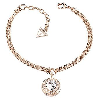 Guess ladies bracelet stainless steel Rosé gold UBB21536-S