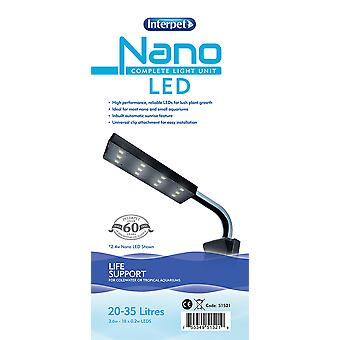 Interpet Nano Complete Light Unit Led Bright White 20-35ltr