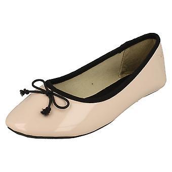 Piger Spot på Ballerina sko / bøje Trim