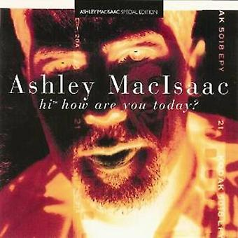 Ashley Macisaac - Hej hvor er du i dag? [CD] USA import