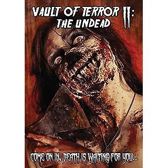 Hvælving af Terror II: Undead [DVD] USA importen