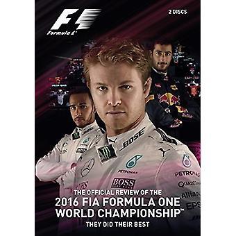 F1 2016 officielle anmeldelse [DVD] USA importerer