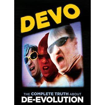 Devo - Devo: Komplet sandheden om De-Evolution [DVD] USA import
