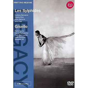 Les Sylphides/Giselle [DVD] USA importerer