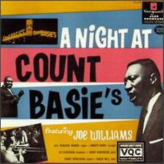 Joe Williams - nat på Count Basie's [CD] USA importerer