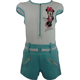 Mädchen Disney Minnie Mouse Kurzarm Playsuit