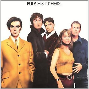 Pulp - His 'N' Hers [Vinyl] USA import