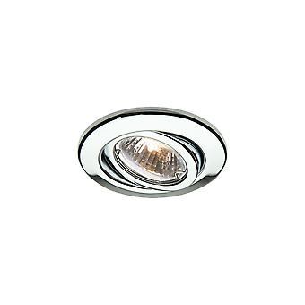 LED Robus Rida GU10 240V justerbar Downlight, Chrome