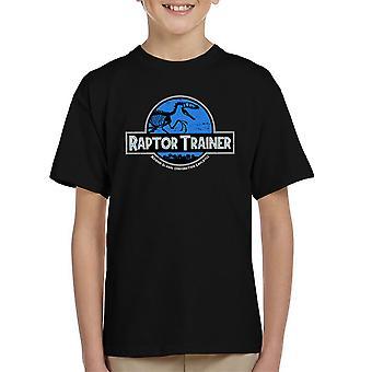 Raptor Trainer Jurassic World Kid's T-Shirt