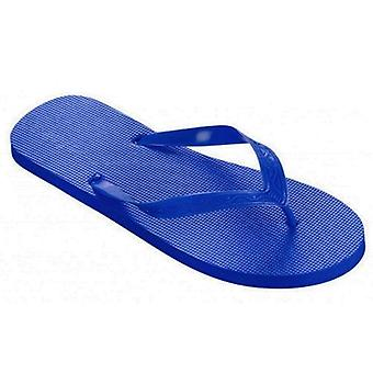 BECO Pool Flip Flops - Navy Blue