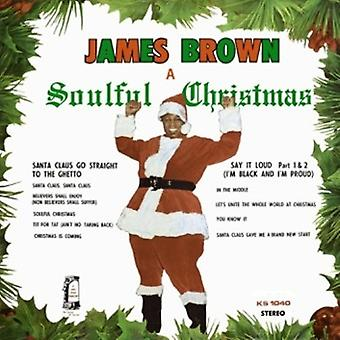 James Brown - Sjælfuld Christmas [CD] USA import