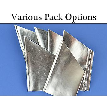 Pearlescent Silver Paper Hats for Christmas Crackers 10, 30 & 100