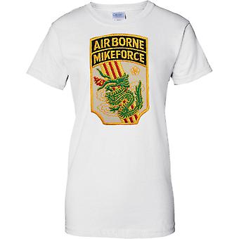 Airborne Mike Force MACV-SOG - 5th Special Forces - Vietnam - Ladies T Shirt