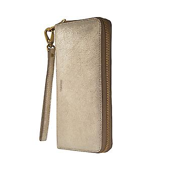 FOSSIL ladies wallet purse coin purse with RFID-chip protection gold 6548